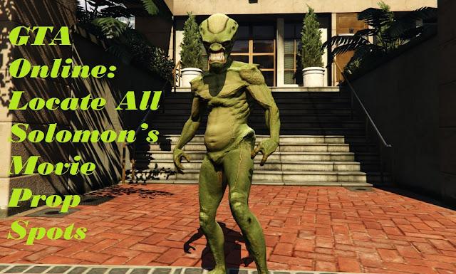 GTA Online: Locate All Solomon's Movie Prop Spots