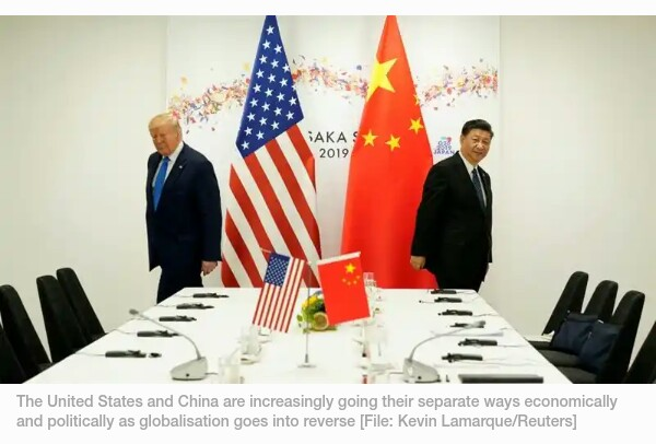 How United States of America and China decoupling battlefront affects everyone