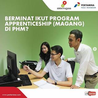 Program Apprenticeship (Magang) PT Pertamina Hulu Mahakam