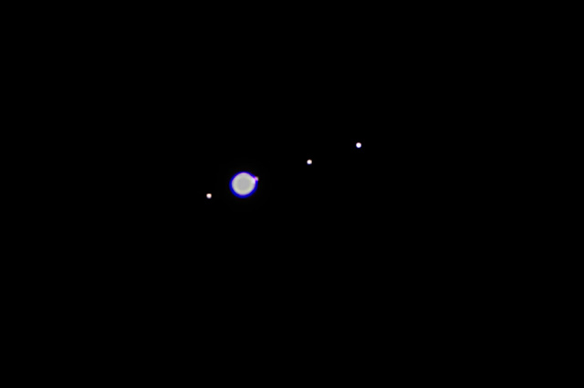 Image of Jupiter and moons (Source: Palmia Observatory)