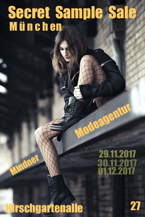 shops blog secret sample sale in m nchen bei der modeagentur mindner an 3 tagen ab. Black Bedroom Furniture Sets. Home Design Ideas