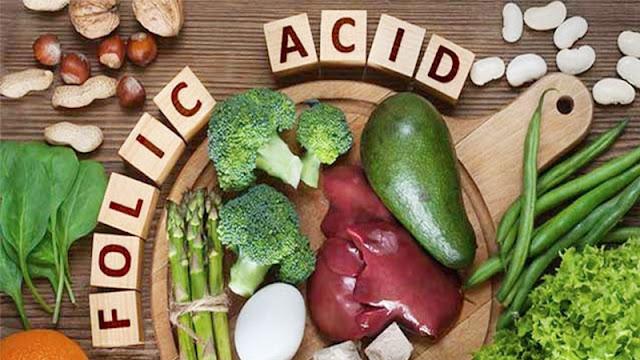 Nhóm thực phẩm giàu Acid Folic