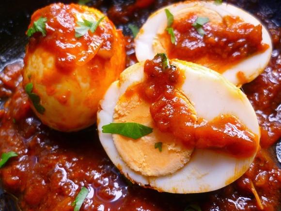 Resepi Telur Rebus Masak Merah