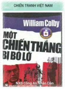 Một chiến thắng bị bỏ lỡ - William Colby