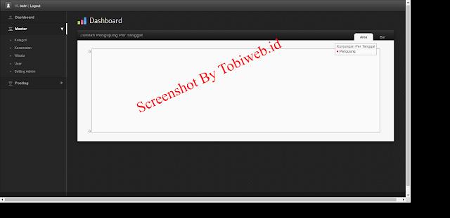 Tutorial Codeigniter : Contoh Website Wisata dengan Mengunakan Framework Codeigniter, PHP dan MySQL. Website Pariwisata berbasis web dengan menggunakan PHP, MySQL dan Framework Codeigniter Secara Gratis Dan Lisensi General Public Umum.