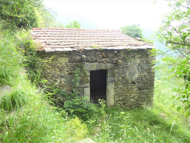 casa in pietra a Sexi di Zoagli