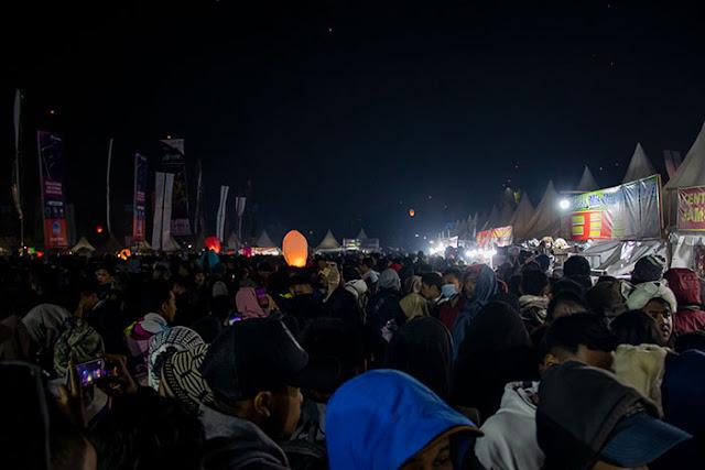 Keramaian Pengunjung Dieng Culture Festival 2019