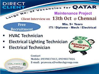 Maintenance Project for Qatar