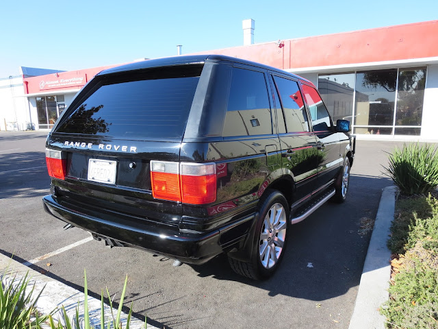 Spectacular Range Rover after full paint job by Almost Everything Auto Body.