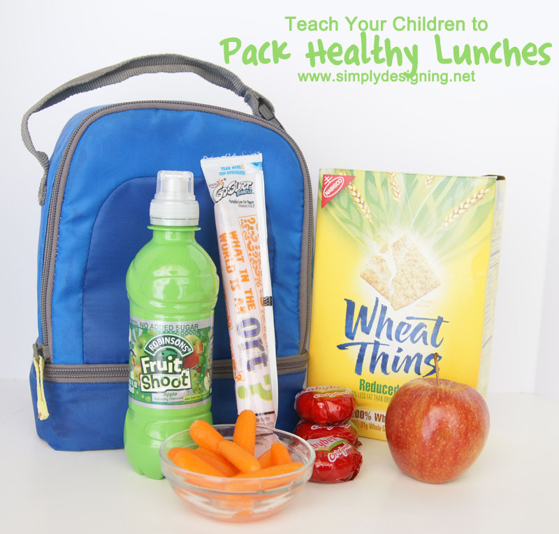 5 Tips for Teaching Children to Pack Healthy Lunches #fruitshoot #fuelyourimagination #ad