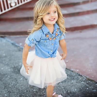 Ubrania dla dzieci także idą z modą i czasem