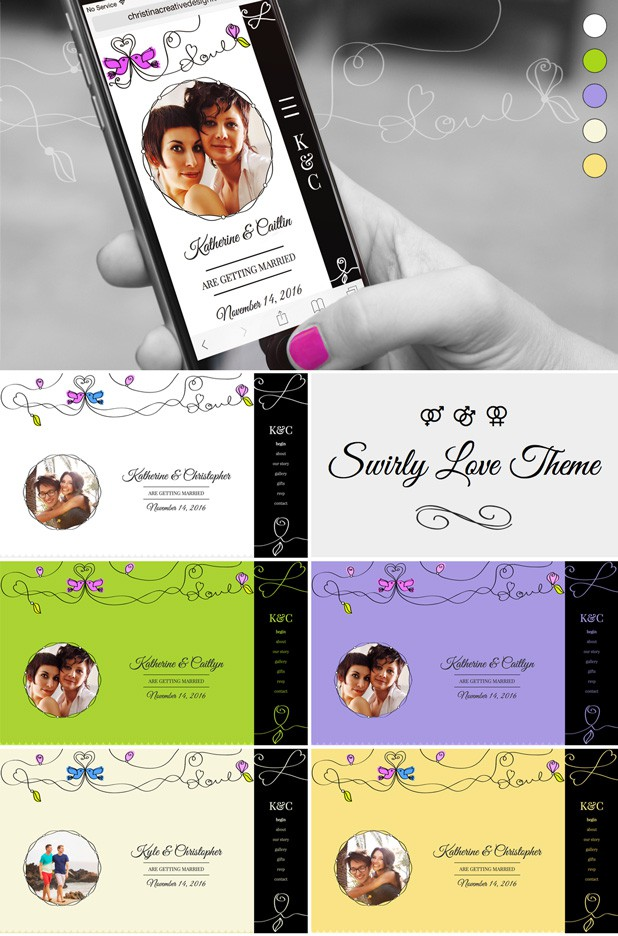 Beautiful Wedding Bootstrap Template