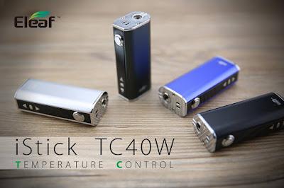 Eleaf iStick TC40W ,Compact and Lightweight !