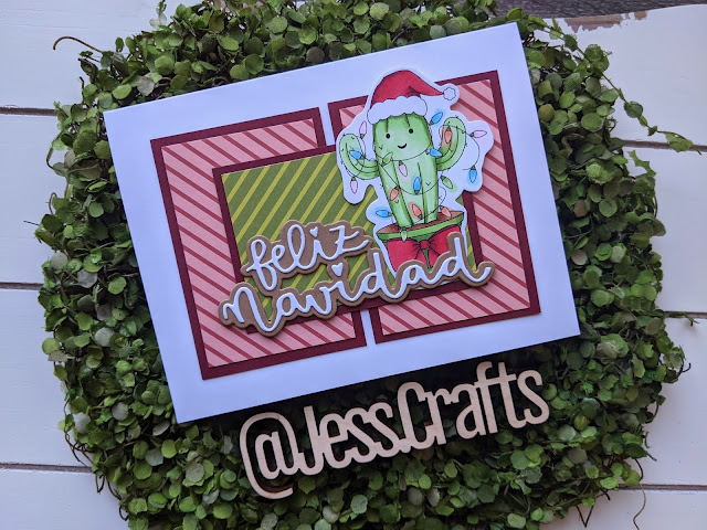 Cards from One Sheet Wonder Template #9 by Jess Crafts