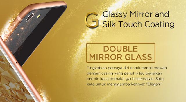 Advan i5A Glassy Gold, Smartphone 4G LTE