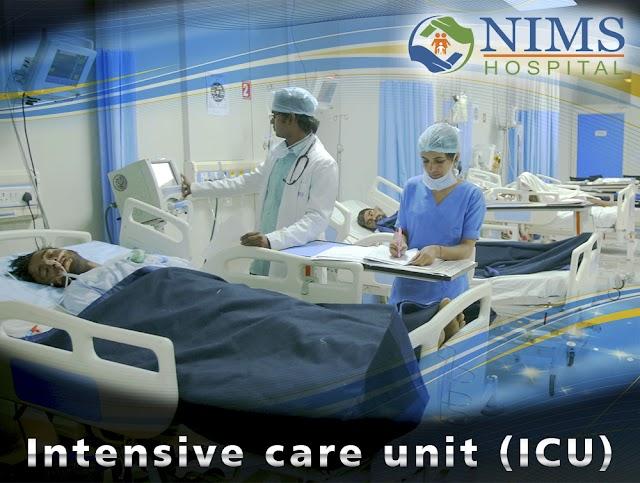 Intersive Care Unit - Nims Hospital Jaipur