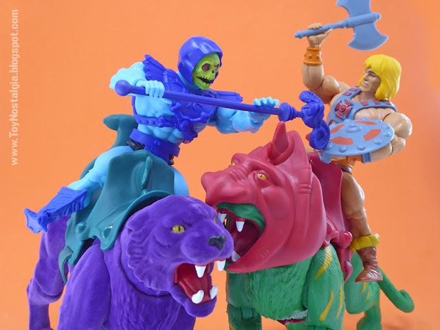 PANTHOR - SKELETOR - BATTLE CAT - HE MAN Origins Amos Del Universo (MOTU ORIGINS MATTEL