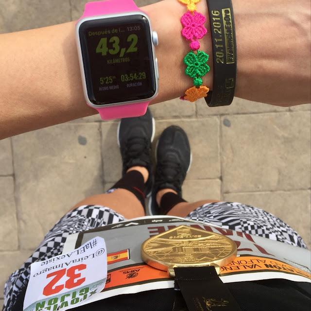 Maratón de Valencia, finisher, medalla, Bikila, Mi Diario Runner
