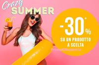 """Logo Pittarello """" Crazy Summer - 30% su un prodotto a scelta"""" : come ottenere lo sconto immediato"""