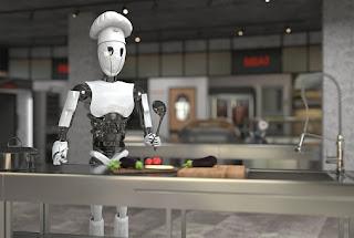 Kekurangan Pekerja, Restoran Sewa Robot untuk Layani Pelanggan