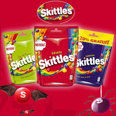 200 paquets de Bonbons Fruités Skittles Fruits à tester !