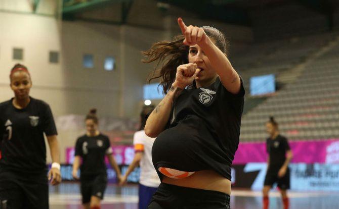 Benfica vencedor da Taça de Portugal 2019/20 em Futsal Feminino
