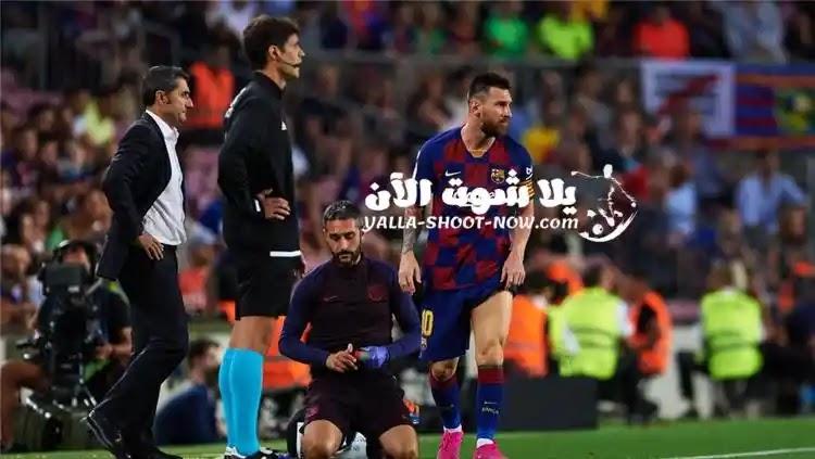نتيجة مباراة برشلونة وفالنسيا في الليجا