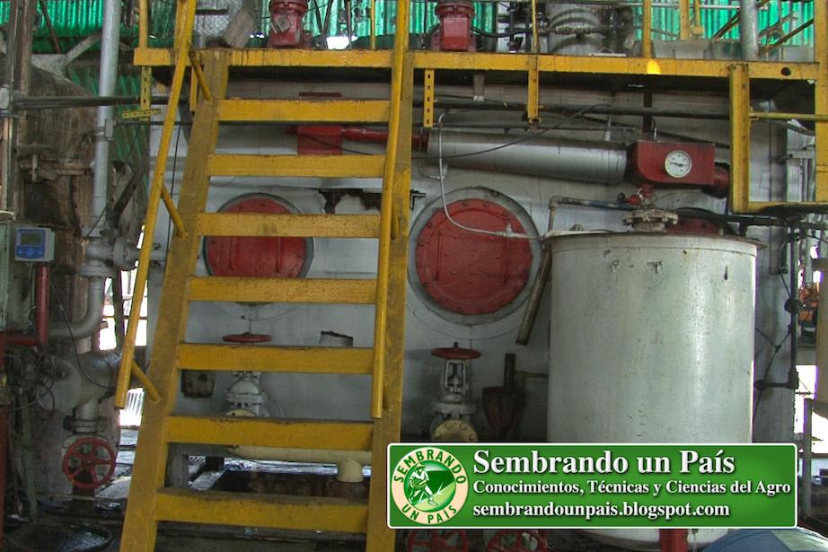 tanque reactor de industria azucarera