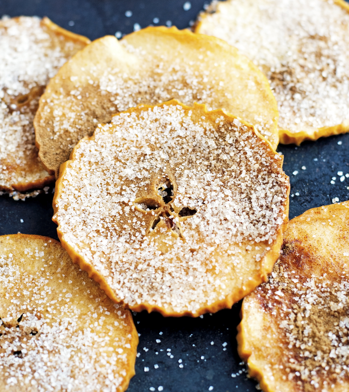 Baked Cinnamon Sugar Apple Chips