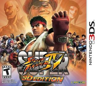 Rom Super Street Fighter IV 3D Edition 3DS