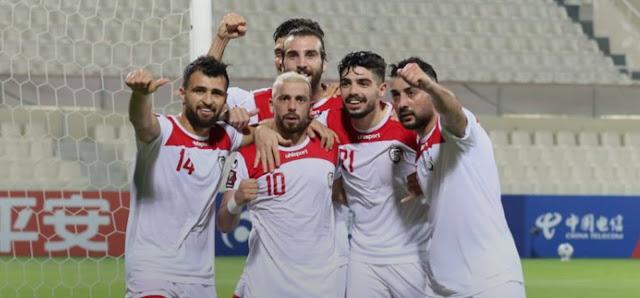 ملخص اهداف مباراة سوريا والمالديف (4-0) تصفيات كاس العالم
