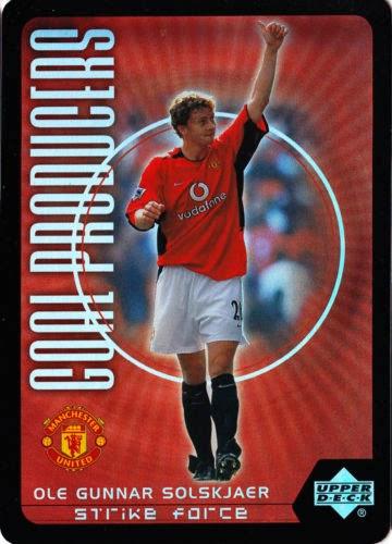Upper Deck Manchester United Strike Force 2003 Complete Player Sets CHOOSE!