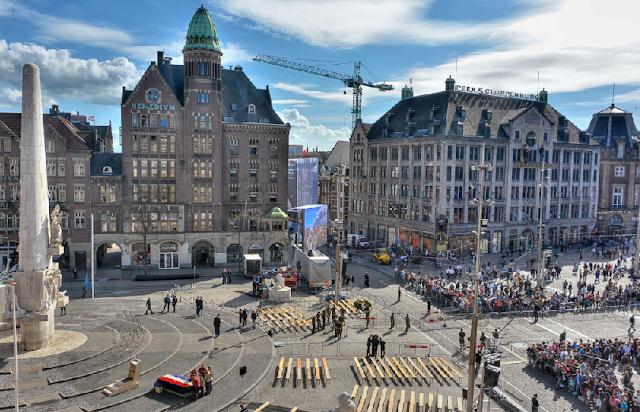 Liberation Day em Amsterdã em Maio