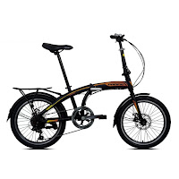 20 pacific 2980rx-d disc brake folding bike