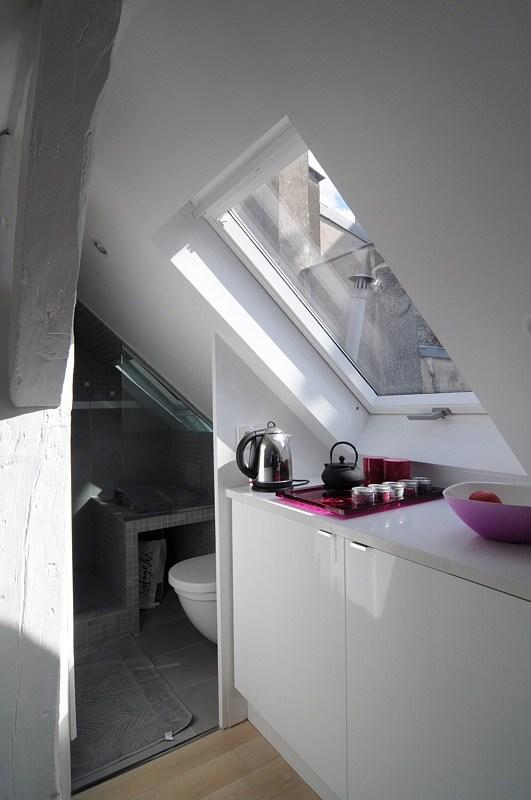 Baño pequeño para una vivienda de 16 m2