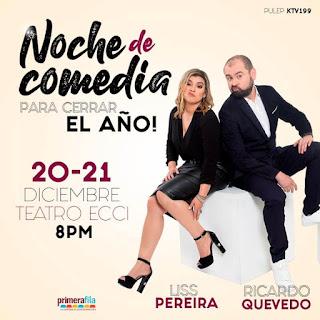 Ricardo Quevedo y Liss Pereira Bogota 2019