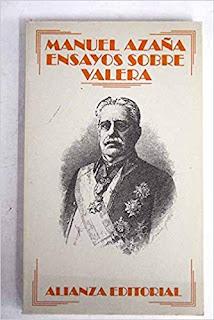 """""""Ensayos sobre Valera"""" de Manuel Azaña"""