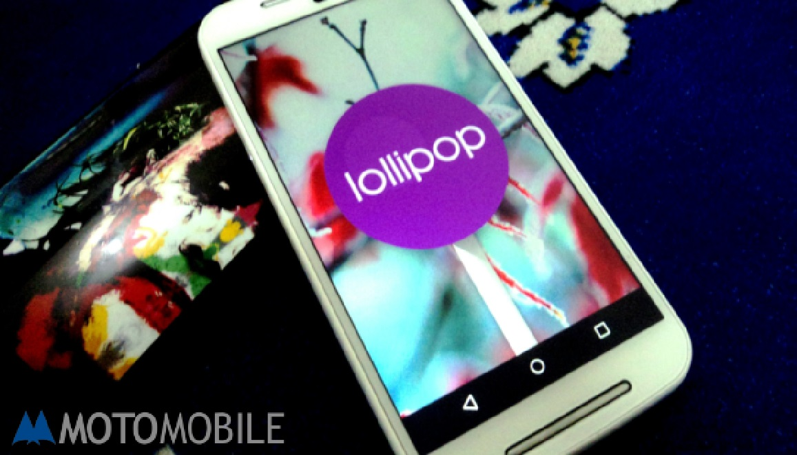 Android 5.1 Lollipop Motorola