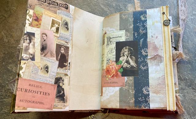 Vintage Days Journal Flick Through