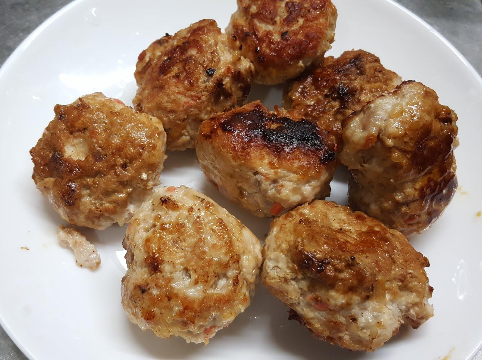 食譜日常 - 美味鹽麴雞肉丸   料理工程師的日常