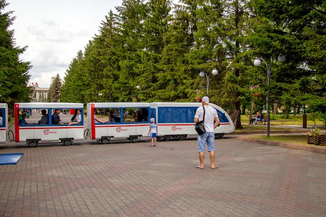 Детская железная дорога Красноярск