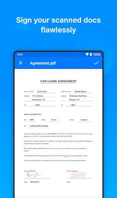 Screenshot Zoho Doc Scanner - Apcoid