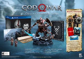 PS4 - God of War PlayStation 4 Video - Collector's Edition
