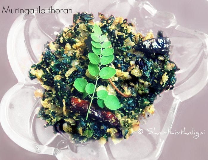 HOW TO MAKE MURINGA ILA THORAN, HOW TO MAKE MURUNGA ILAI PORIYAL,DRUMSTICK LEAVES PORIYAL