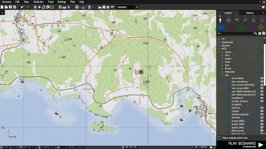Arma3のマップ画面を変更するMOD