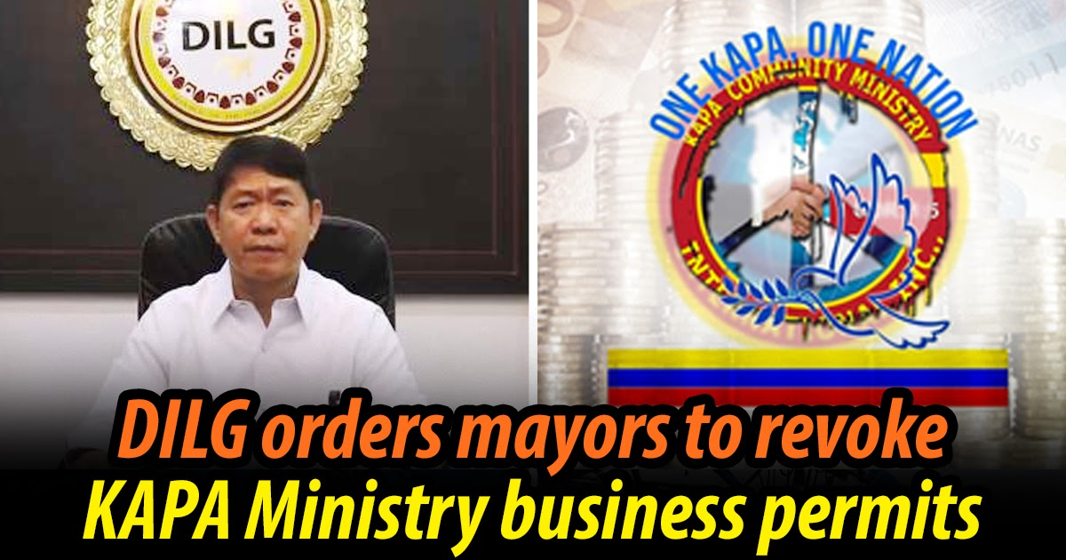 DILG orders LGUs to stop giving permits to KAPA