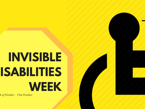 Be Invisible No More - Invisible Disabilities Week 2018 - GET INVOLVED WTH ME!