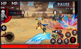 Gameplay Naruto SENKI PERANG DUNIA SHINOBI 4