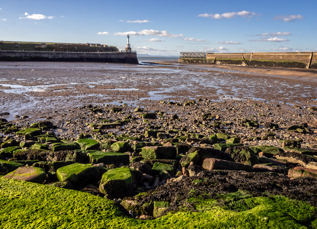 Photo of Maryport Basin at low tide