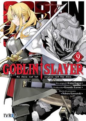 Reseña de Goblin Slayer (manga) vols. 9 y 10, de Kumo Kagyu y Kousuke Kurose. - Ivréa.